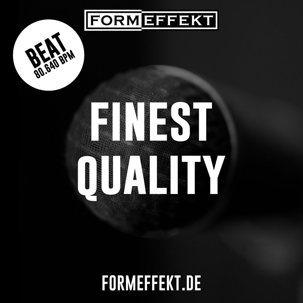 Finest Quality - Beat - Cover