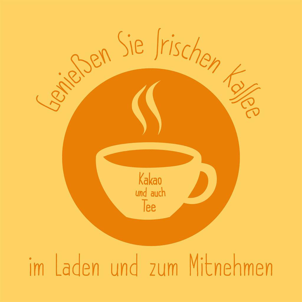 Kinderspiel + Buch - Kaffee Fahne